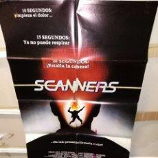 Cine: SCANNERS DAVID CRONENBERG POSTER ORIGINAL 70X100 Q. Lote 244945950