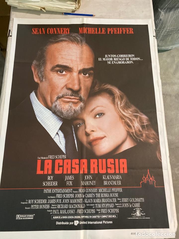 LA CASA RUSIA (Cine - Posters y Carteles - Suspense)