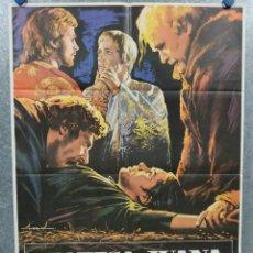 Cine: LA PAPISA JUANA. LIV ULLMANN, FRANCO NERO, MAXIMILIAN SCHELL, OLIVIA DE H AÑO 1977. POSTER ORIGINAL. Lote 245079265
