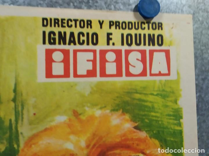 """Cine: De picos pardos a la ciudad. José Luis """"Kiko"""" Carbonell, Elena María Tejeir AÑO 1971 POSTER ORIGINAL - Foto 4 - 245083240"""