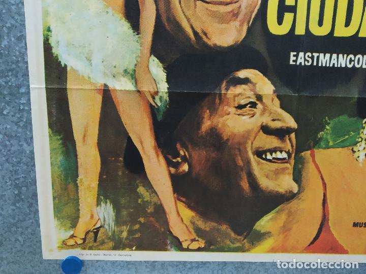 """Cine: De picos pardos a la ciudad. José Luis """"Kiko"""" Carbonell, Elena María Tejeir AÑO 1971 POSTER ORIGINAL - Foto 6 - 245083240"""