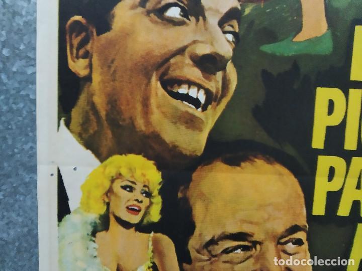 """Cine: De picos pardos a la ciudad. José Luis """"Kiko"""" Carbonell, Elena María Tejeir AÑO 1971 POSTER ORIGINAL - Foto 7 - 245083240"""