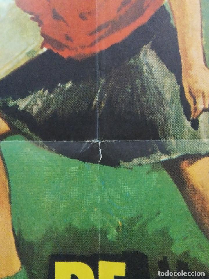 """Cine: De picos pardos a la ciudad. José Luis """"Kiko"""" Carbonell, Elena María Tejeir AÑO 1971 POSTER ORIGINAL - Foto 8 - 245083240"""