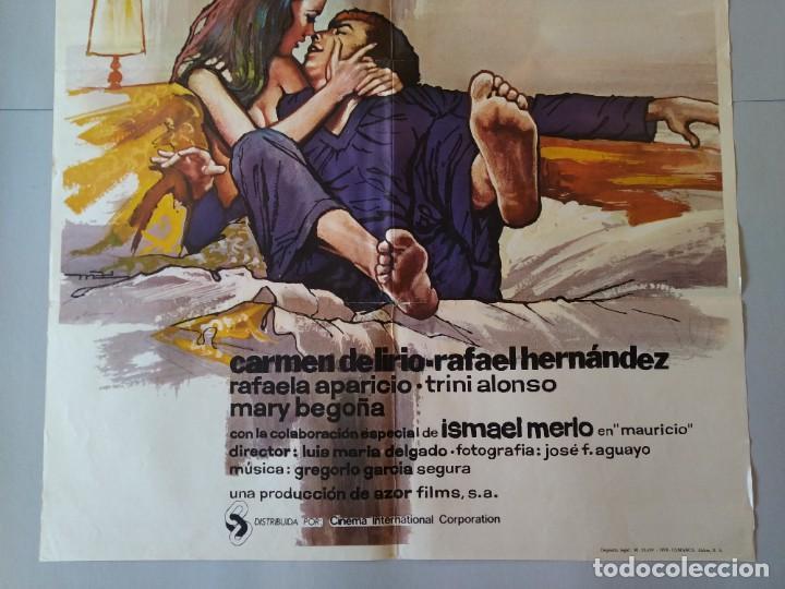 Cine: CARTEL CINE POSTER ORIGINAL, LOS HIJOS DE.... - AÑO 1976, MARIA JOSE CANTUDO, PEDRO OSINAGA.. L3420 - Foto 3 - 245085730