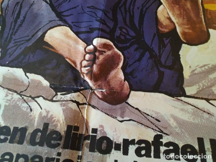 Cine: CARTEL CINE POSTER ORIGINAL, LOS HIJOS DE.... - AÑO 1976, MARIA JOSE CANTUDO, PEDRO OSINAGA.. L3420 - Foto 4 - 245085730