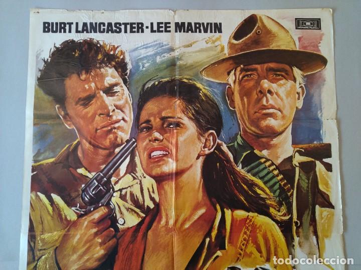 Cine: CARTEL CINE POSTER ORIGINAL - LOS PROFESIONALES BURT LANCASTER - LEE MARVIN 1975 - MAC ...L3423 - Foto 2 - 245094710