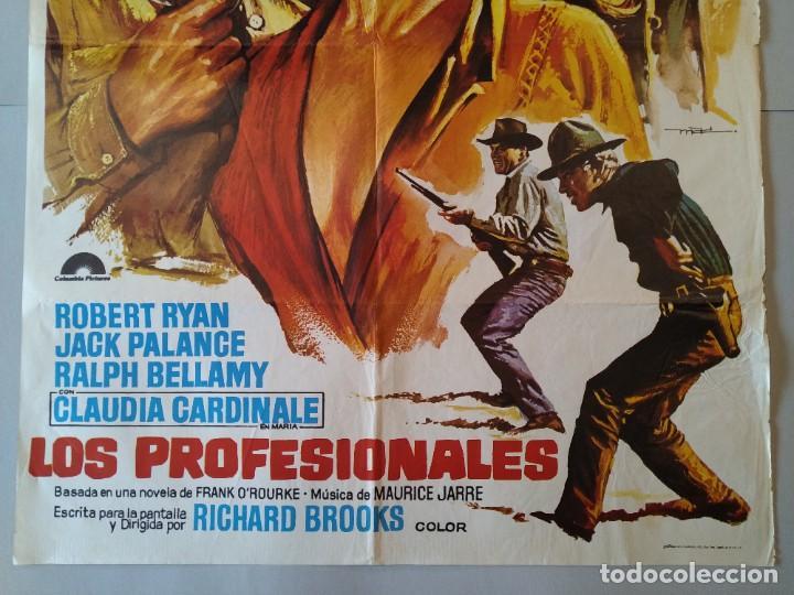Cine: CARTEL CINE POSTER ORIGINAL - LOS PROFESIONALES BURT LANCASTER - LEE MARVIN 1975 - MAC ...L3423 - Foto 3 - 245094710