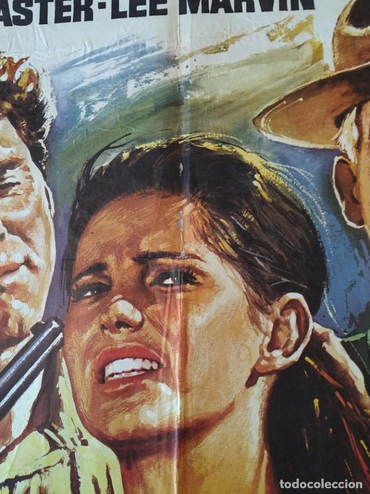 Cine: CARTEL CINE POSTER ORIGINAL - LOS PROFESIONALES BURT LANCASTER - LEE MARVIN 1975 - MAC ...L3423 - Foto 5 - 245094710