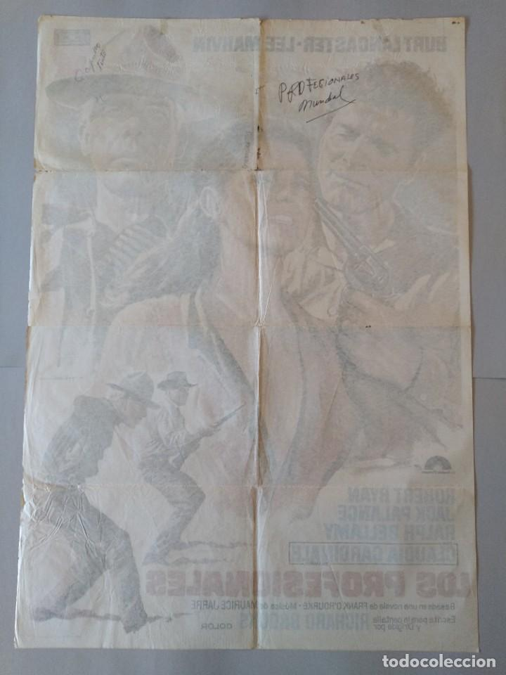 Cine: CARTEL CINE POSTER ORIGINAL - LOS PROFESIONALES BURT LANCASTER - LEE MARVIN 1975 - MAC ...L3423 - Foto 6 - 245094710