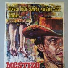 Cine: CARTEL CINE, POSTER ORIGINAL, MESTIZO, 1966, MAC .. L3424. Lote 245096480
