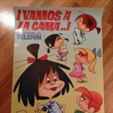 Cine: POSTER LA FAMILIA TELERIN CLEO VAMOS A LA CAMA. Lote 245098665