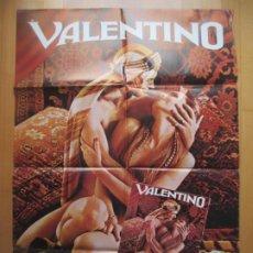 Cine: CARTEL CINE + 11 FOTOCROMOS + GUIA VALENTINO RUDOLF NUREYEV 1977 CCF213. Lote 245175245