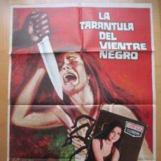 Cine: CARTEL CINE + 10 FOTOCROMOS LA TARANTULA DEL VIENTRE NEGRO GIANCARLO GIANNINI 1973 CCF214. Lote 245176855