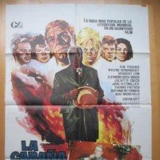 Cine: CARTEL CINE + 12 FOTOCROMOS LA CABAÑA DEL TIO TOM O.W. FISCHER JANO CCF223. Lote 245218370