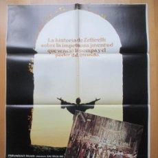 Cine: CARTEL CINE + 12 FOTOCROMOS HERMANO SOL, HERMANA LUNA FRANCO ZEFFIRELLI 1973 MAC CCF228. Lote 245220450