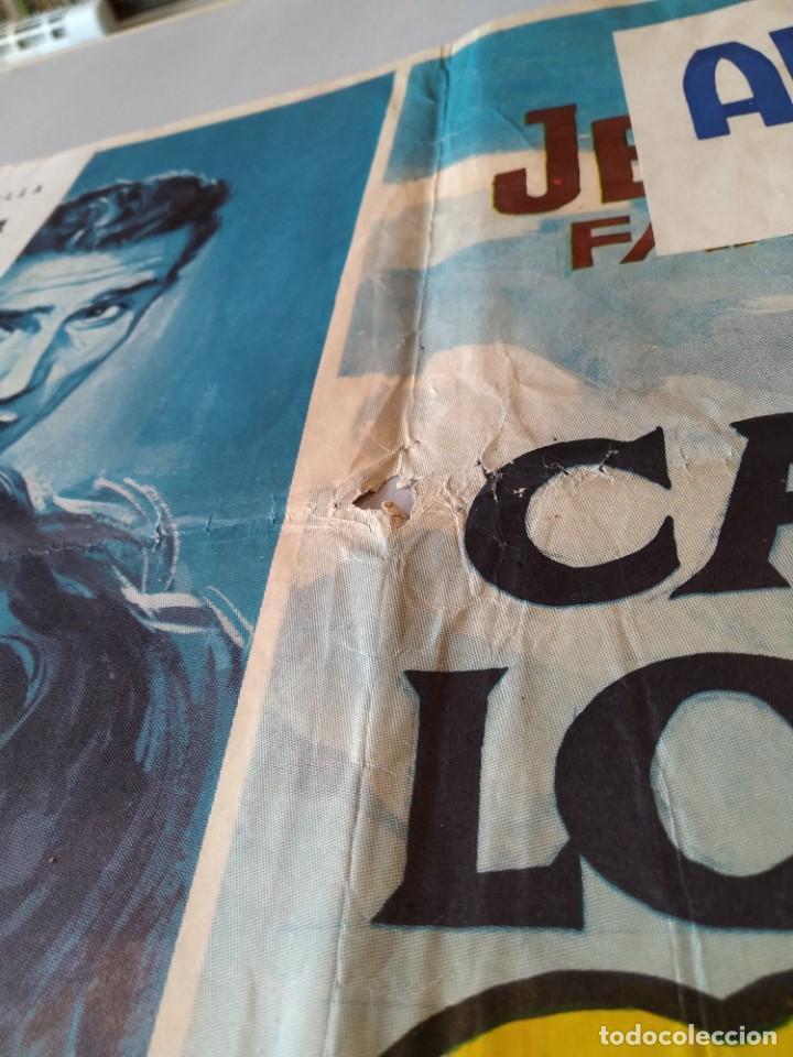 Cine: CARTEL CINE POSTER ORIGINAL - LA CARGA DE LOS INDIOS SIOUX - 1965 - DIB. ALVARO... L3426 - Foto 4 - 245250155