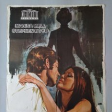 Cine: CARTEL CINE POSTER ORIGINAL - MARTA - MARISA MELL - STEPHEN BOYD AÑO 1971 - DIB. JANO .. L3433. Lote 245268295