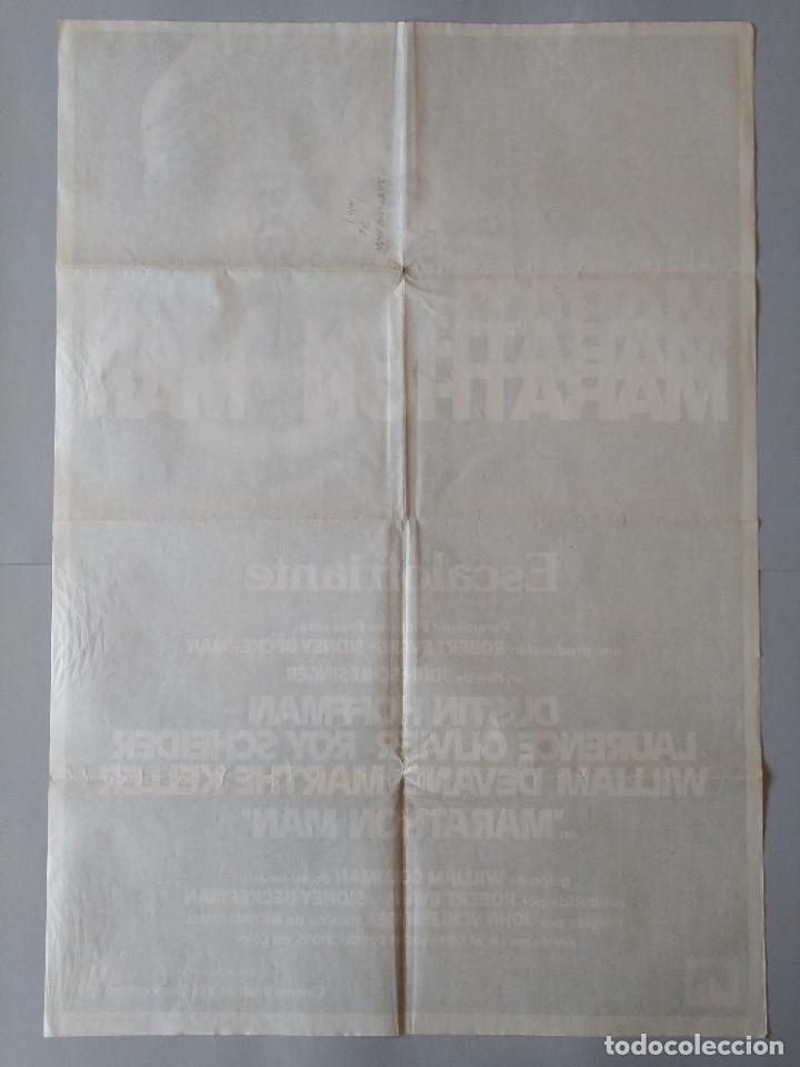 Cine: CARTEL CINE POSTER ORIGINAL - MARATHON MAN - AÑO 1976 .. L3436 - Foto 4 - 245275985