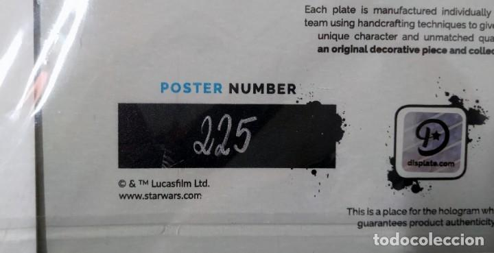 Cine: Fascinante póster de metal con arte de Star Wars con licencia oficial, Poster Nº 225, Firmado Master - Foto 5 - 245308355