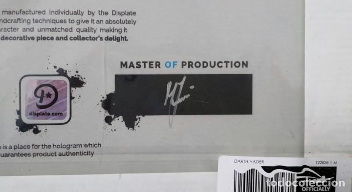 Cine: Fascinante póster de metal con arte de Star Wars con licencia oficial, Poster Nº 225, Firmado Master - Foto 6 - 245308355