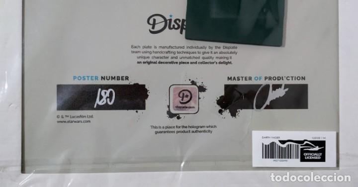 Cine: Fascinante póster de metal con arte de Star Wars con licencia oficial, Poster Nº 180, Firmado Master - Foto 4 - 245308670