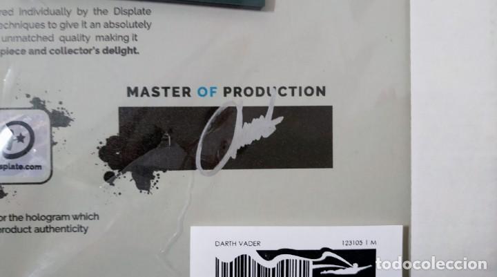 Cine: Fascinante póster de metal con arte de Star Wars con licencia oficial, Poster Nº 180, Firmado Master - Foto 6 - 245308670