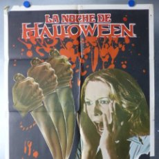 Cine: LA NOCHE DE HALLOWEEN, DONALD PLEASENCE, JAMIE LEE CURTIS, JOHN CARPENTER - AÑO 1979. Lote 245375515