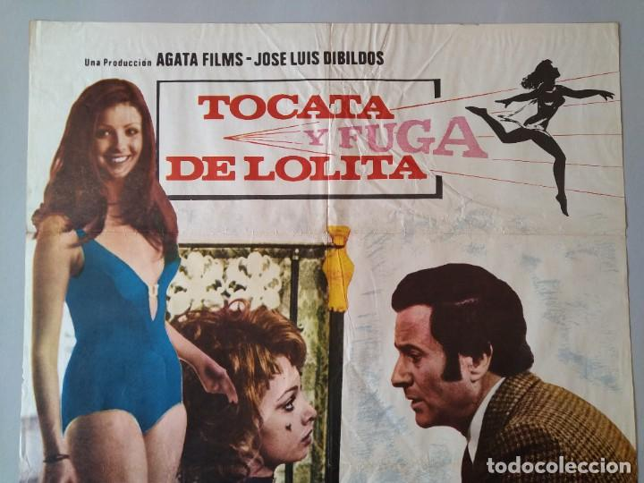 Cine: CARTEL CINE POSTER ORIGINAL - TOCATA Y FUGA DE LOLITA - DIRECTOR ANTONIO DROVE AÑO 1974 .. L3439 - Foto 2 - 245425945