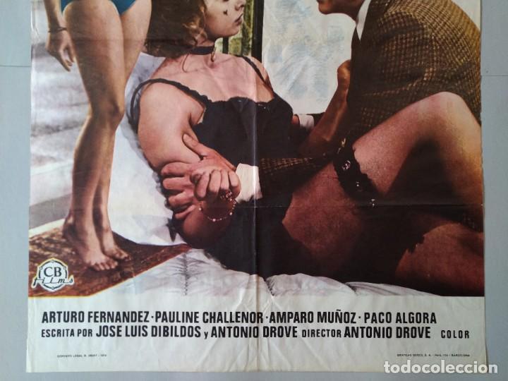 Cine: CARTEL CINE POSTER ORIGINAL - TOCATA Y FUGA DE LOLITA - DIRECTOR ANTONIO DROVE AÑO 1974 .. L3439 - Foto 3 - 245425945