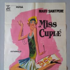 Cine: CARTEL CINE POSTER ORIGINAL MISS CUPLE - MARY SANTPERE 1973 - JANO .. L3442. Lote 245429900