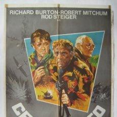 Cine: CERCO ROTO, CON ROBERT MITCHUM. PÓSTER 70 X 100 CMS.1979.. Lote 245435895