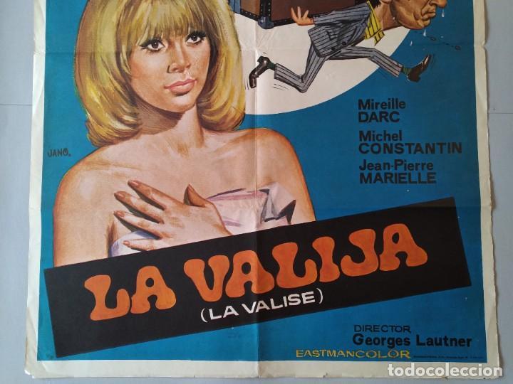Cine: CARTEL CINE POSTER ORIGINAL - LA VALIJA - MIREILLE DARC - MICHEL CONSTANTIN 1974 DIB. JANO .. L3449 - Foto 3 - 245441630