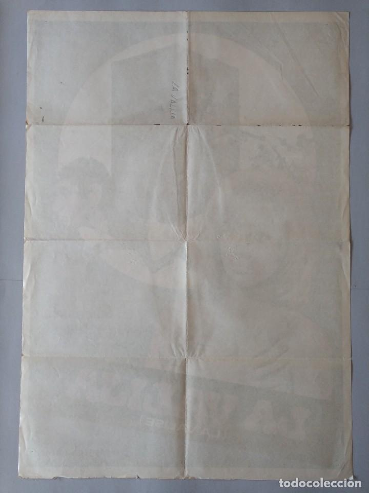 Cine: CARTEL CINE POSTER ORIGINAL - LA VALIJA - MIREILLE DARC - MICHEL CONSTANTIN 1974 DIB. JANO .. L3449 - Foto 4 - 245441630