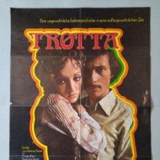 Cine: CARTEL CINE POSTER ORIGINAL - TROTTA - AÑO 1971 .. L3450. Lote 245442865