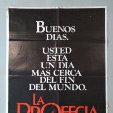 Cine: CARTEL CINE POSTER ORIGINAL - LA PROFECIA - AÑO 1971 .. L3453. Lote 245447185