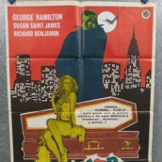 Cine: AMOR AL PRIMER MORDISCO . GEORGE HAMILTON, SUSAN SAINT JAMES. AÑO 1979. POSTER ORIGINAL. Lote 245447675