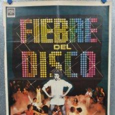 Cine: FIEBRE DEL DISCO. FABIAN, CASEY KASEM. POSTER ORIGINAL. Lote 245449655