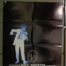Cine: CDO 9198 HOME OF THE BRAVE LAURIE ANDERSON POSTER ORIGINAL 70X100 ESTRENO. Lote 245648250