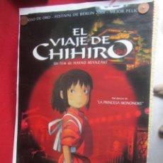 Cinema: CARTEL POSTER. EL VIAJE DE CHIHIRO.. Lote 245719995