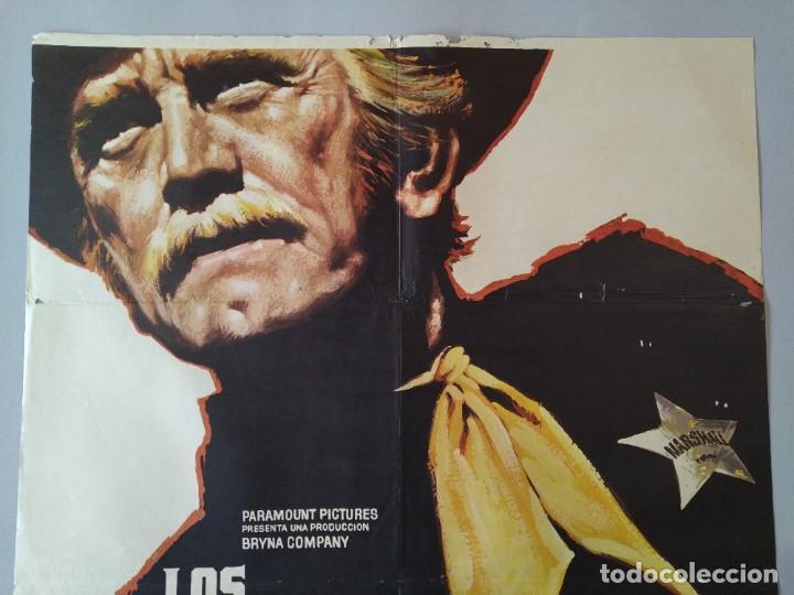 Cine: CARTEL CINE ORIGINAL - LOS JUSTICIEROS DEL OESTE - KIRK DOUGLAS - BRUCE DERN - 1975 MAC .. L3467 - Foto 2 - 245908515