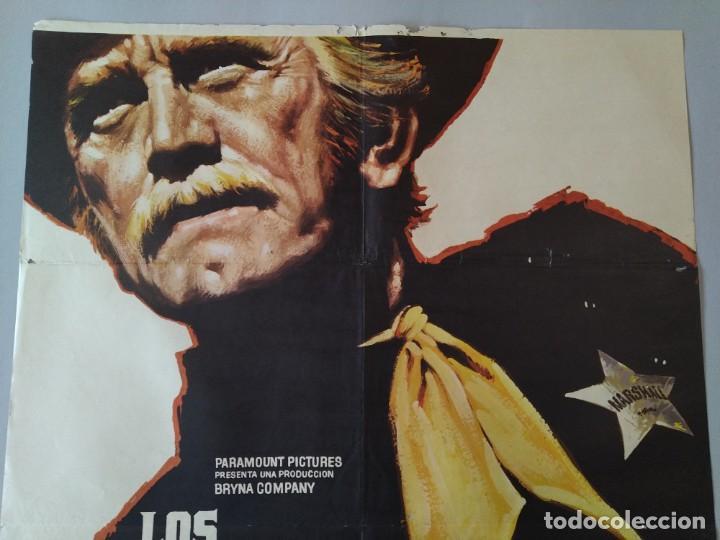 Cine: CARTEL CINE ORIGINAL - LOS JUSTICIEROS DEL OESTE - KIRK DOUGLAS - BRUCE DERN - 1975 MAC .. L3467 - Foto 3 - 245908515