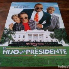 Cine: EL HIJO DEL PRESIDENTE - SINBAD, BROCK PIERCE, BLAKE BOYD, ART LAFLEUR - POSTER ORIGINAL DISNEY 1996. Lote 245972350