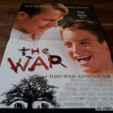 Cine: THE WAR - KEVIN COSTNER, ELIJAH WOOD, MARE WINNINGHAM - MINI POSTER ORIGINAL U.I.P 1994. Lote 245988205