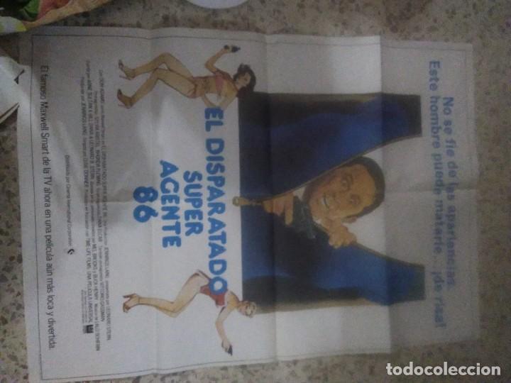 EL DISPARATADO SUPER AGENTE 86. DON ADAMS, SYLVIA KRISTEL, RHONDA FLEMING. AÑO 1980. (Cine - Posters y Carteles - Comedia)