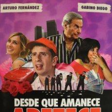 Cine: PÓSTER DESDE QUE AMANECE APETECE. Lote 245997275
