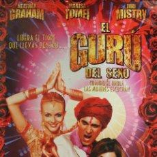 Cine: PÓSTER EL GURÚ DEL SEXO. Lote 245998010