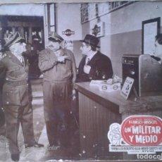 Cine: UN MILITAR Y MEDIO. ALDO FABRIZI. Lote 246077450