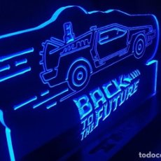 Cine: CARTEL LUMINOSO BACK TO THE FUTURE LED LAMP FIGURE POSTER LAMPARA SERIE PELICULA. Lote 246115805