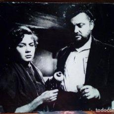 Cine: FOTOCROMO DE CARTÓN ABISMOS DE PASIÓN 1953 BUÑUEL LILIA PRADO LUIS ACEVES CASTAÑEDA 38 X 28 CM. Lote 246322430