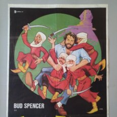 Cine: CARTEL CINE ORIGINAL - ZAPATONES - BUD SPENCER - AÑO 1980 - JANO ...L3478. Lote 246432310
